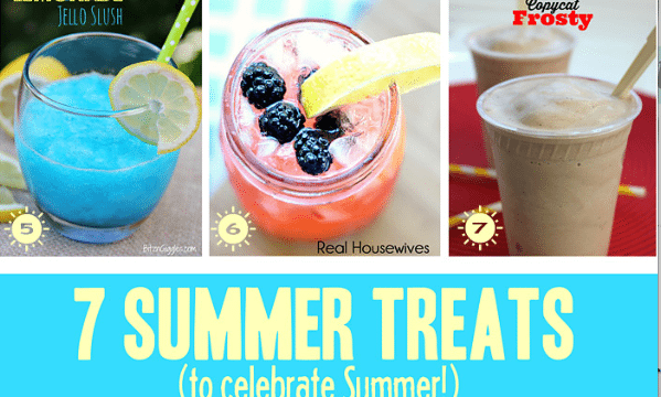 Easy to Make - Cool Summer Treats and Inspiration Monday