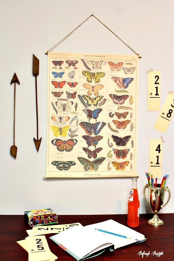 How to create a Vintage Inspired Poster #backtoschool #poster #vintage