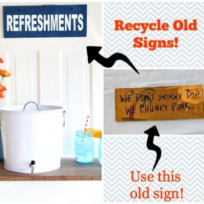 How To Make a Sign – Recycled Wood