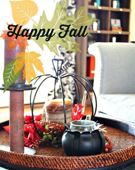 Fall Tour Coffee table