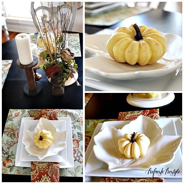 Fall Tour Dining Table