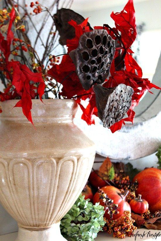 Fall Tour Mantel  #fall #mantel #autumn