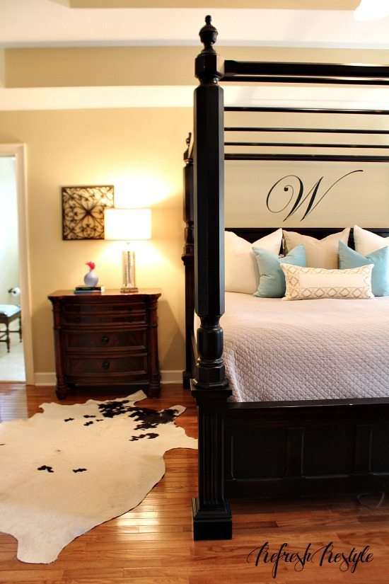 Fall tour Master bedroom