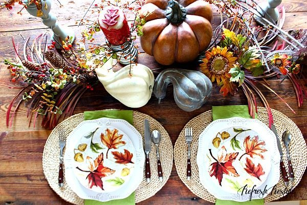 Fall tour dining table 2