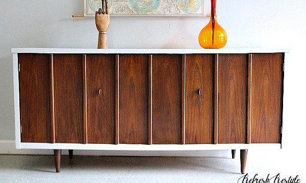 TwoTone Mid century modern makeover