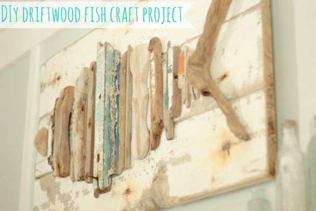 pallet driftwood-fish-craft