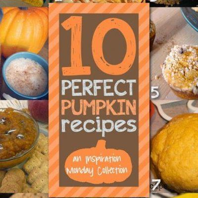 Pumpkin Recipes and Inspiration Monday