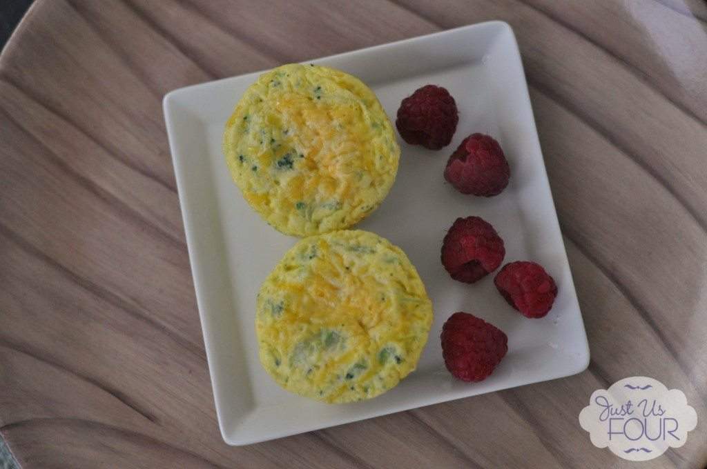 06 - Just Us Four - Broccoli and Cheese Muffins