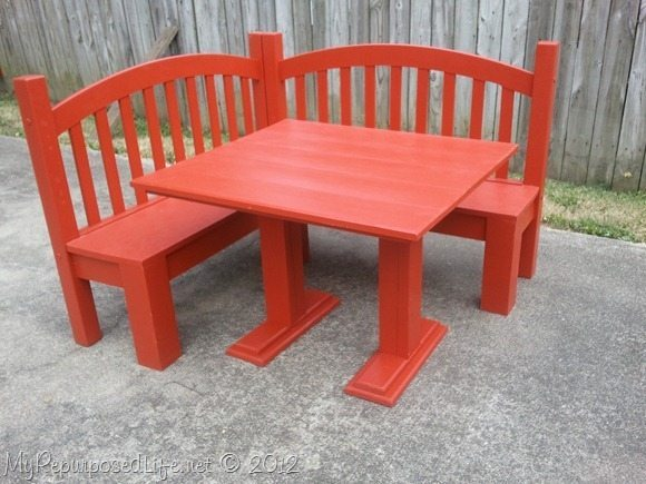 07 - My Repurposed Life - Kids Corner Bench