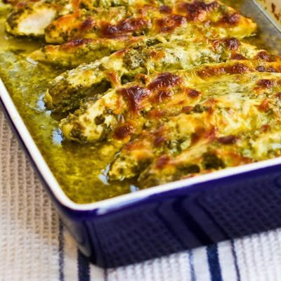 08 - Kalyns Kitchen - Baked Pesto Chicken