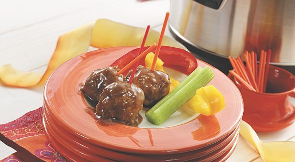 09 - Tablespoon - Three Ingredient Sweet and Sour Meatballs