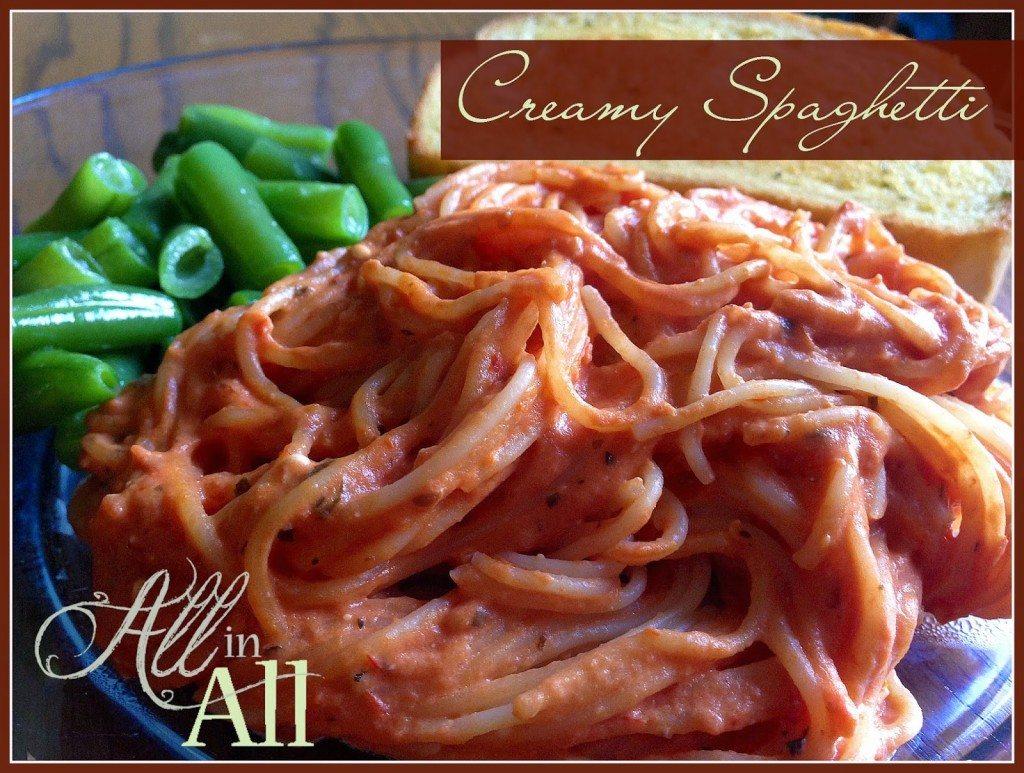 10 - Carissa Shaw - Creamy Spaghetti
