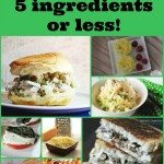 5 ingredient or less #recipes