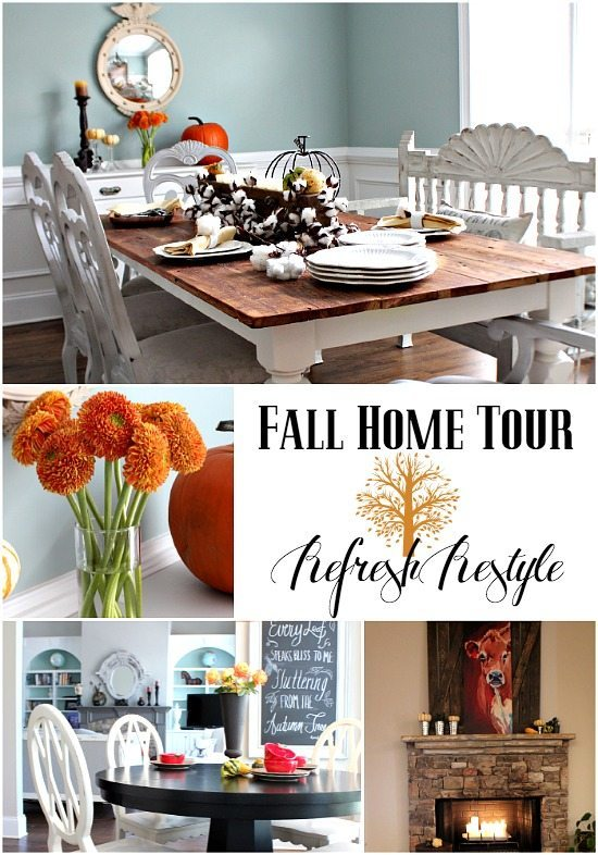 Fall Home Decor #diy #fall #natural