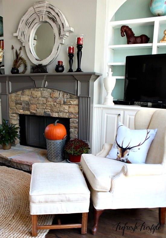 Fall Decor Ideas #diy #budgetfriendly