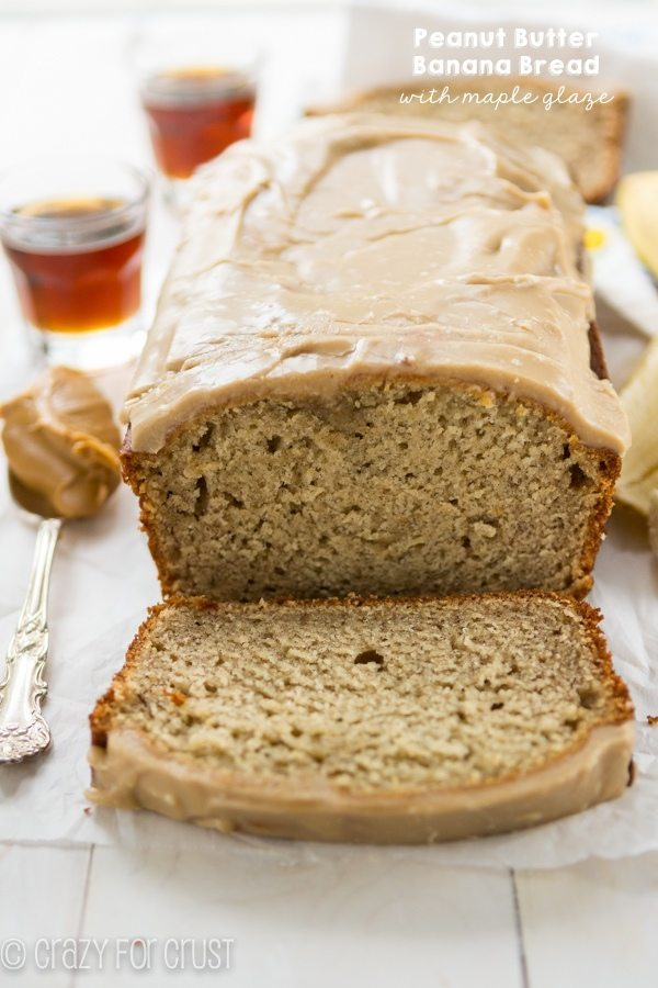 01 - Crazy for Crust - Banana Bread with Maple Glaze