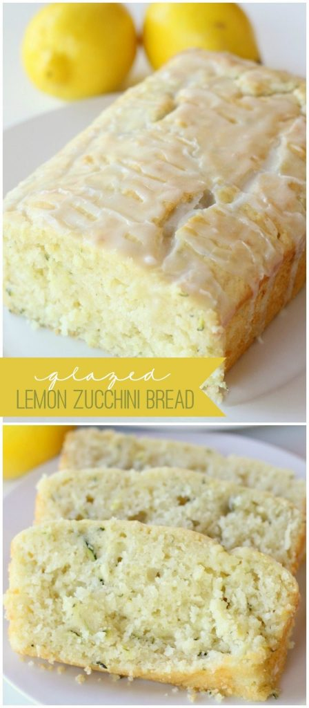 10 - Lil Luna - Glazed Lemon Zucchini Bread