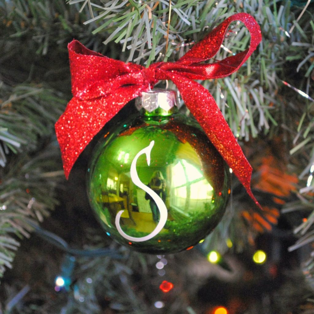 11 - Gingerly Made - Monogram Ornament