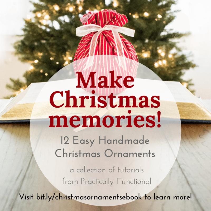 12 Easy Handmade Christmas Ornaments - square