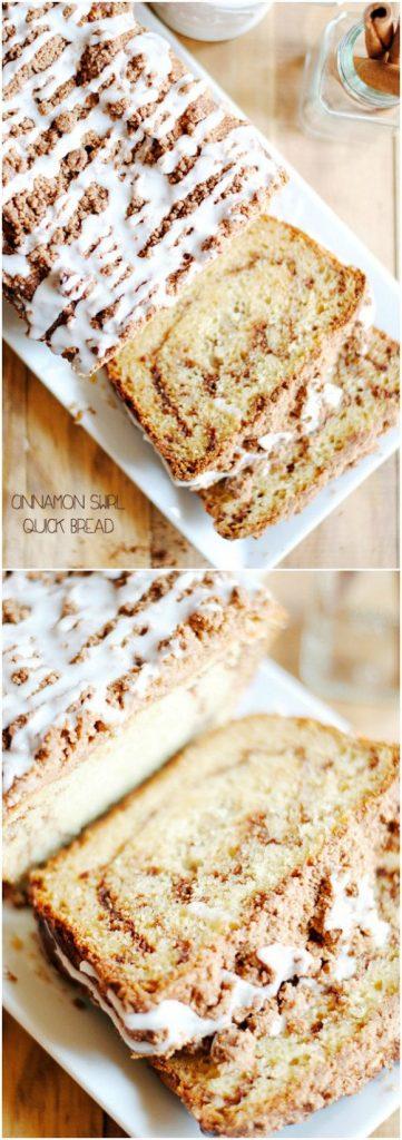 12 - Something Swanky - Cinnamon Swirl Quick Bread