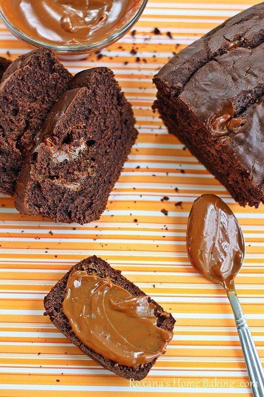 14 - Roxanna's Cooking - Chocoalte Dulce de Leche Bread