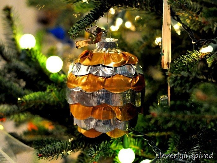 15 - Cleverly Inspired - Duct Tape Ornament
