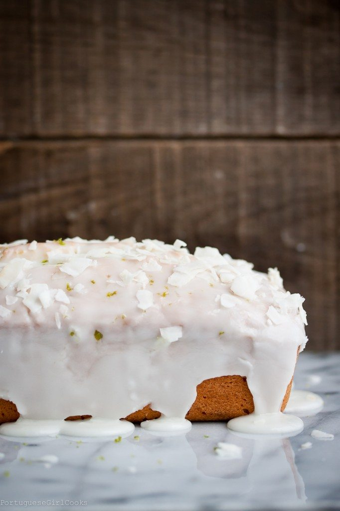 15 - Portugeuse Girl Cooks - Lime Coconut quick Bread
