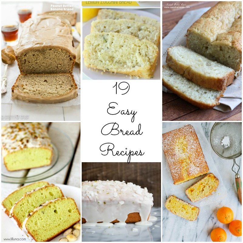19-easy-bread-recipes-collage