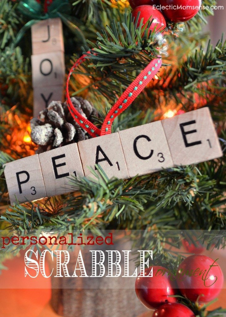 20 - A Night Owl Blog - Personalized Scrabble Ornament