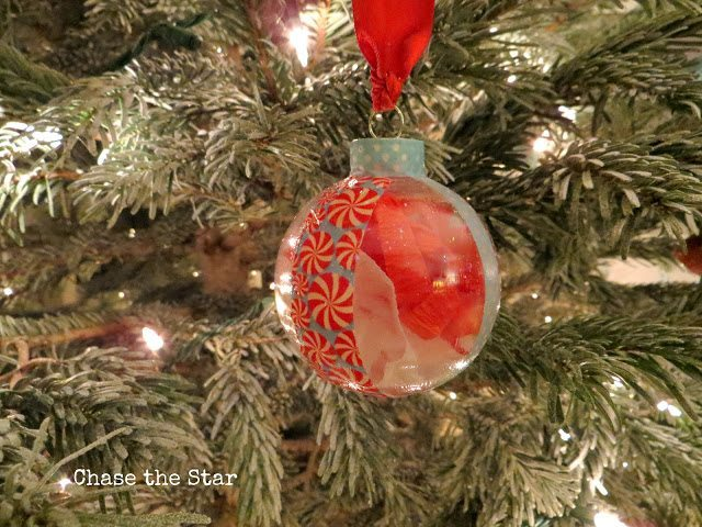 22 - Chase the Star - Washi Tape and Crepe Paper Ornament