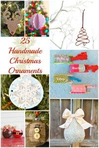 25 Handmade Christmas Ornaments