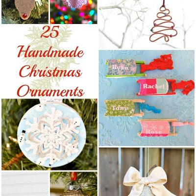 25 Handmade Ornaments