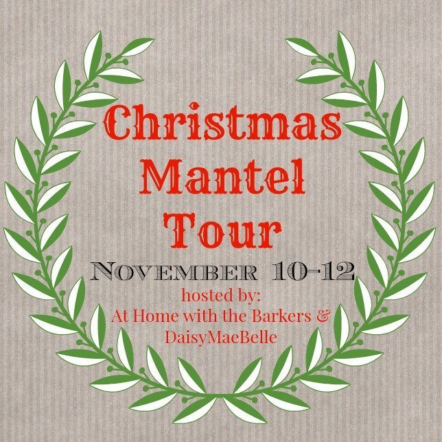 Christmas Mantle Tour lots of bloggers awesome mantels