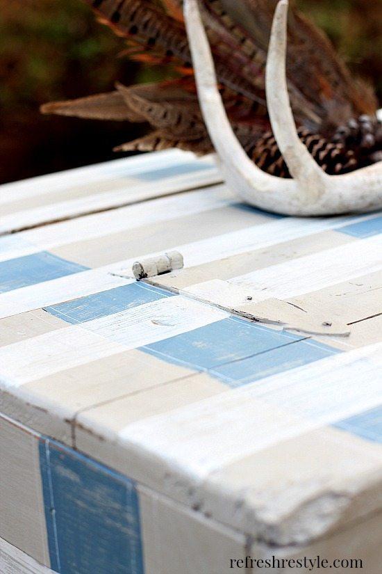 End Table Makeover 6 #maisonblanchepaint #paintedfurniture #ad