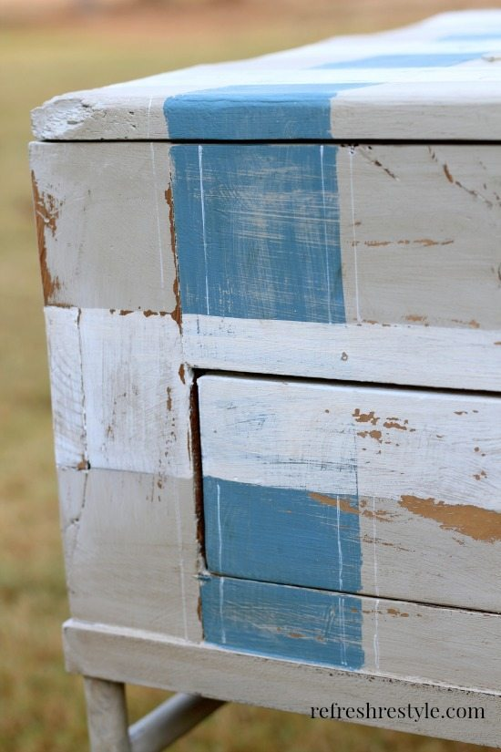End Table Makeover 7 #maisonblancepaint #paintedfurniture #ad