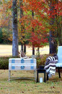 End table makeover 9 #maisonblanchepaint #paintedfurniture #ad