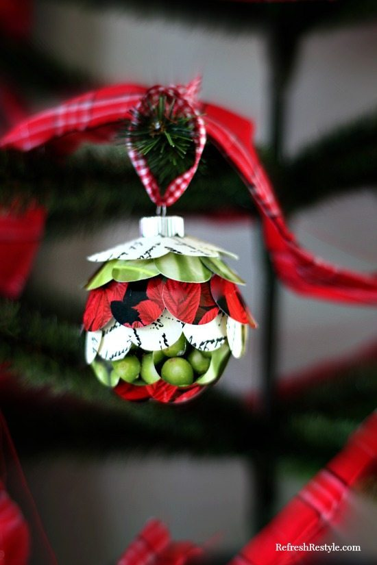 Handmade Ornament easy to coordinate with your decor