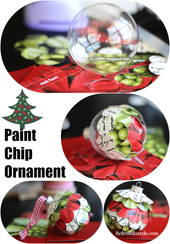 Paint Chip Ornament