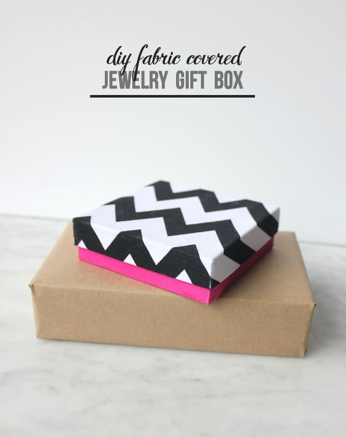 Mod Podge Rocks - Fabric Covered Jewel Gift Boxes