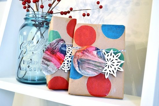 Mod Podge Rocks - Creative Gift Wrap