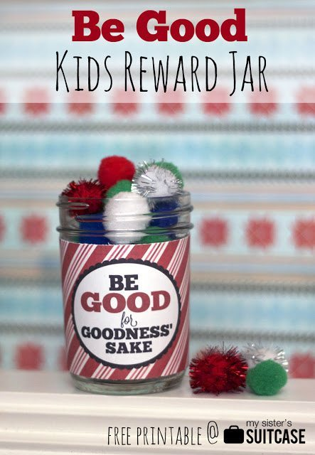 Sisters Suitcase Blog - be_good_printable_reward_jar