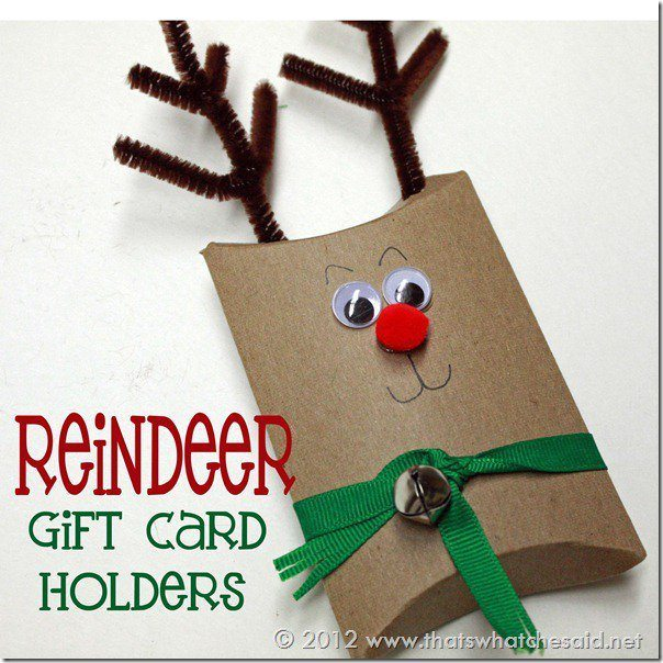 Thats What Che Said - Raindeer Gift Card Holders