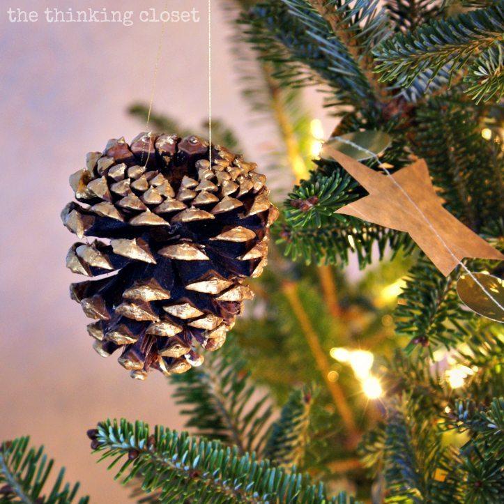 Thinking Closet - Gold Brushed Pinecone