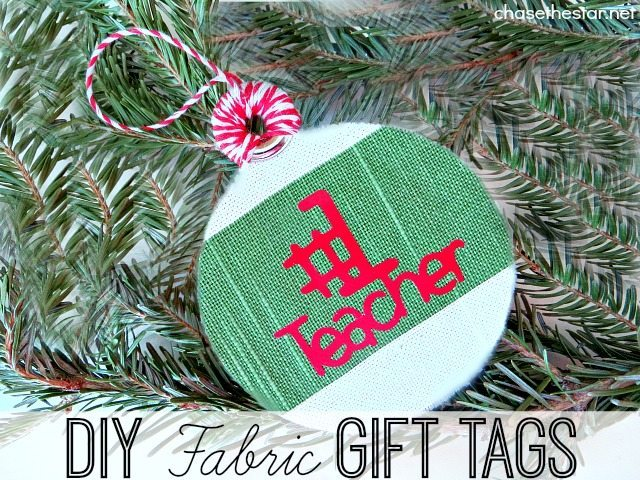Chase The Star - DIY Fabric Gift Tags