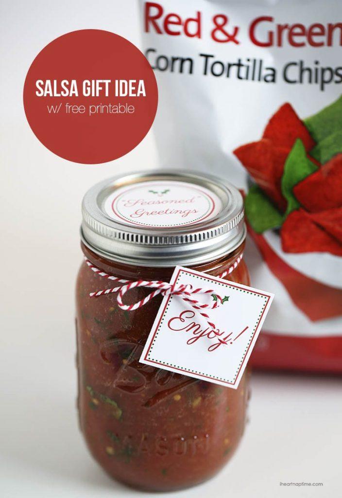 I Heart Naptime - Homemade Salsa Gift