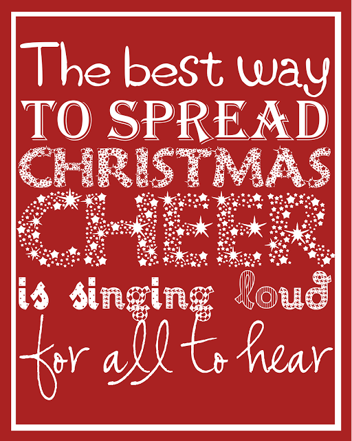 Becoming Martha - The Best Way To Spread Christmas Cheer Printable