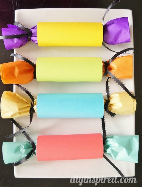 DIY Inspired - Toilet Paper Gift Wrapping