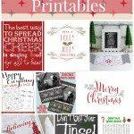 21 Christmas Printables