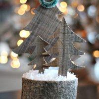 Barnwood Christmas Trees