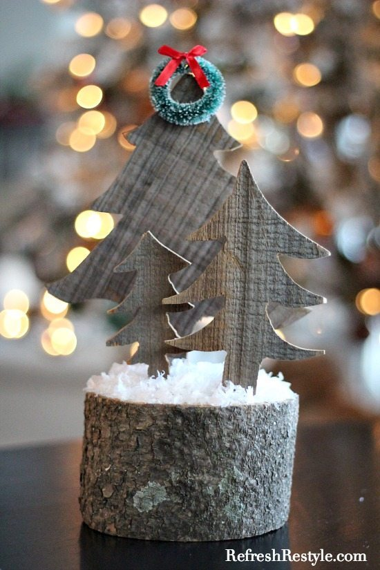 Barnwood Christmas Trees